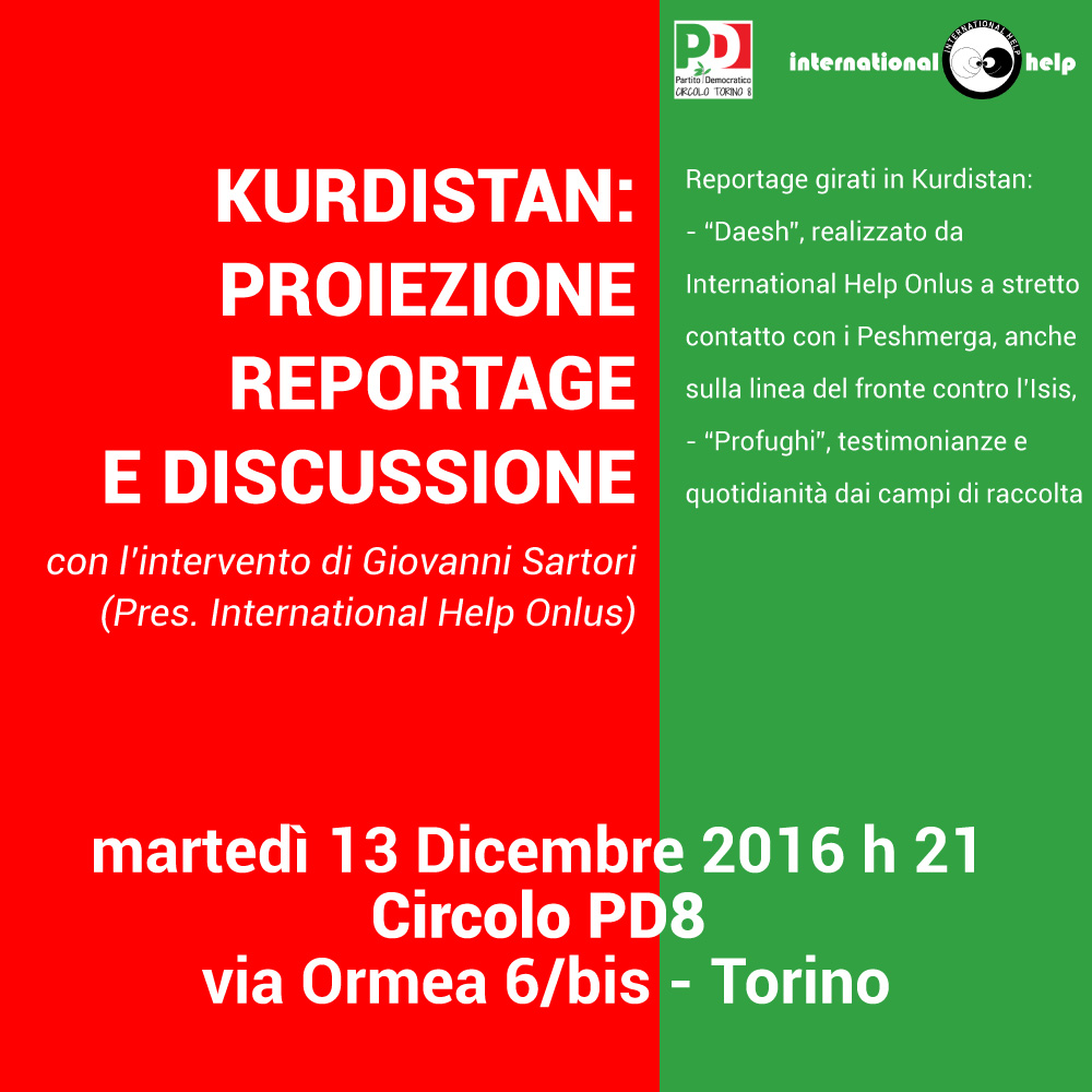 Evento Kurdistan PD8