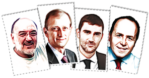 Giorgio ARDITO, Piero FASSINO, Davide GARIGLIO e Roberto PLACIDO stanno raccogliendo le firme per le Primarie del Centrosinistra a Torino