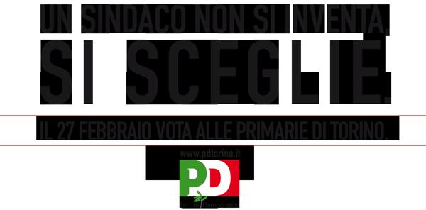 Il 27 febbraio, vota alle Primarie di TORINO